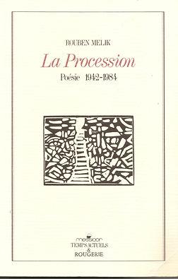couverture livre Rouben Melik laProcession
