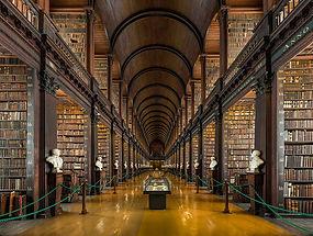 Bibliothèque de Trinity's Collège
