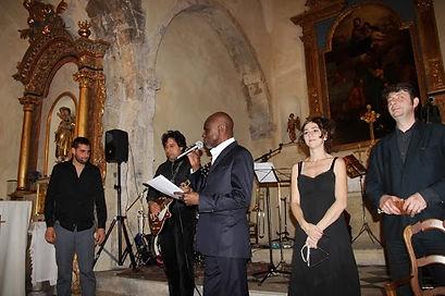 le concert Lavach dans l'Eglise de Cabriès