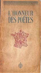 livre l'honneur des poetes