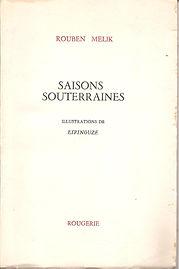 livre saisons souterraines