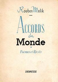 livre Accords du Monde