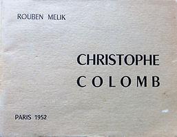 livre Christophe Colomb couleur beige