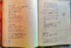 cahier manuscrit de Rouben Melik