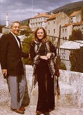 Rouben et jasn à Sarajevo