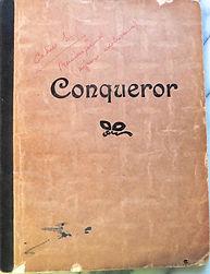 cahier d'écolier Conquéror