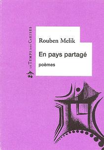 livre  en pays partagé couleur violet