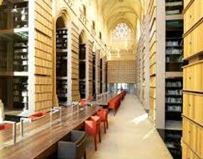 Bibliothèque, lieu de consultation des archives de l'IMEC
