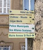 panneaux chateau musée