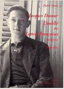 photo portrait jacqes Decour l'oublié des Lettres Françaises