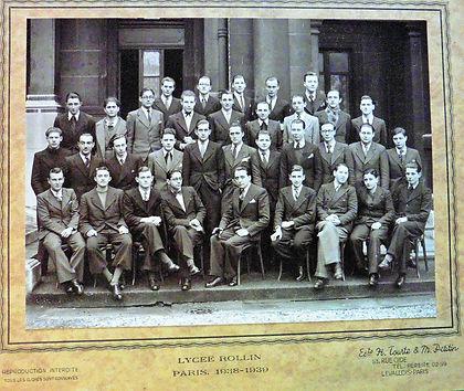 photo de classe 1939 terminale