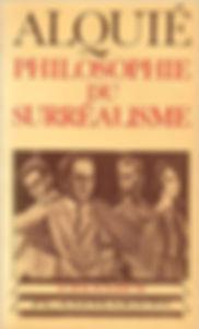 couverture livre Alquié philosophie du surréalisme