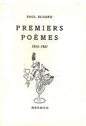 premiers poèmes Eluard