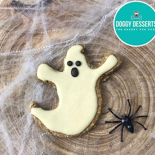 Halloween Ghost Biscuit