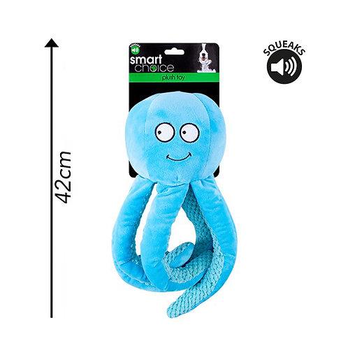 Plush Dog Toy Octopus