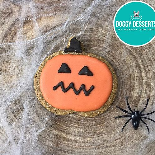 Halloween Pumpkin Biscuit