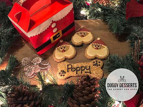 Merry Woofmas Santa Box