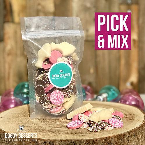 Pick and Mix Dog Chocolate