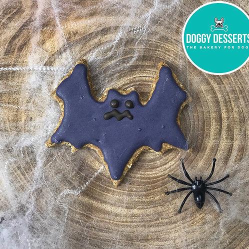 Halloween Bat Biscuit