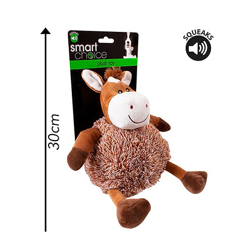 Plush Dog Toy Horse