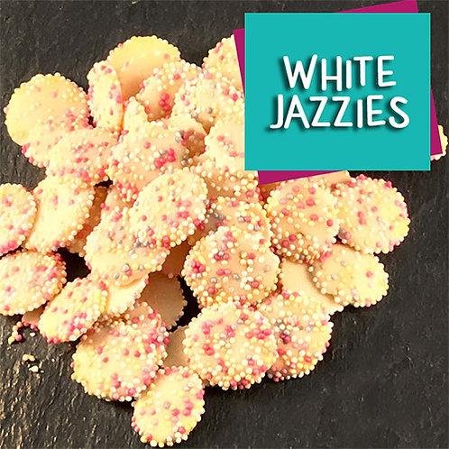 Dog Chocolate Jazzies (White)