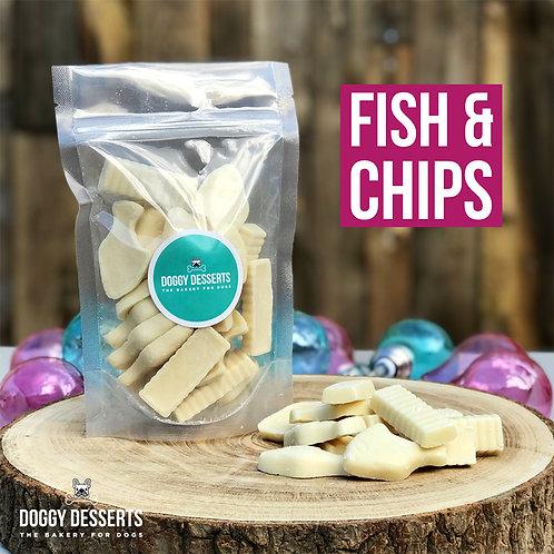 Fish & Chips Dog Chocolate