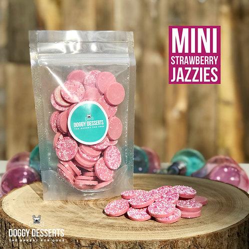 Mini Strawberry Jazzies Dog Chocolate