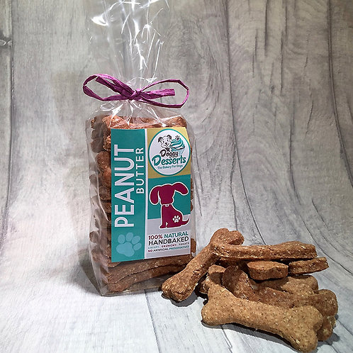 peanut butter biscuits pack with treats
