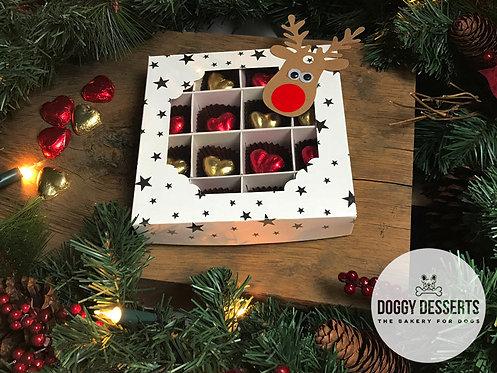 Merry Woofmas Doggy Chocolates