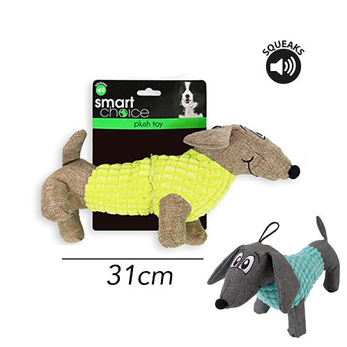 Plush Dog Toy Sausage Dog