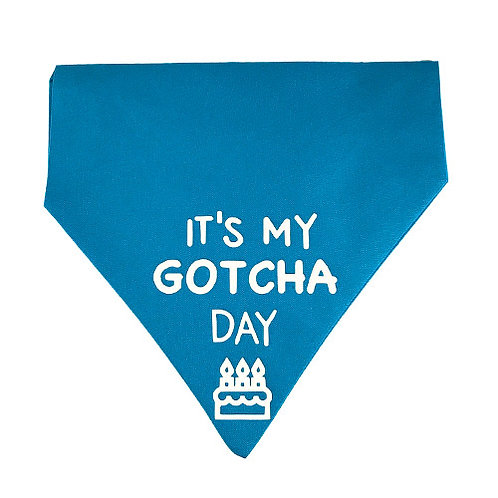 Gotcha Day Bandana Blue