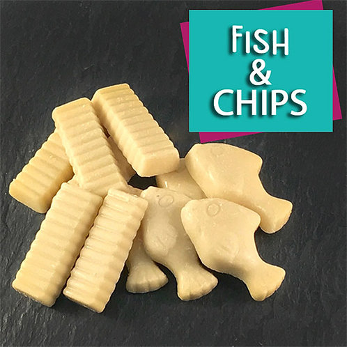 Dog Chocolate Fish & Chips