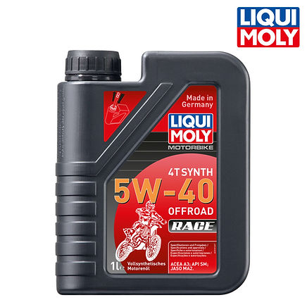 Motorbike 4T Synth 5W-40 Offroad Race 全合成競技型越野摩托車機油