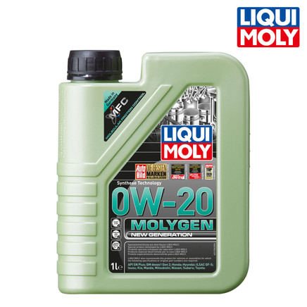 Molygen New Generation 新一代魔護機油 0W-20