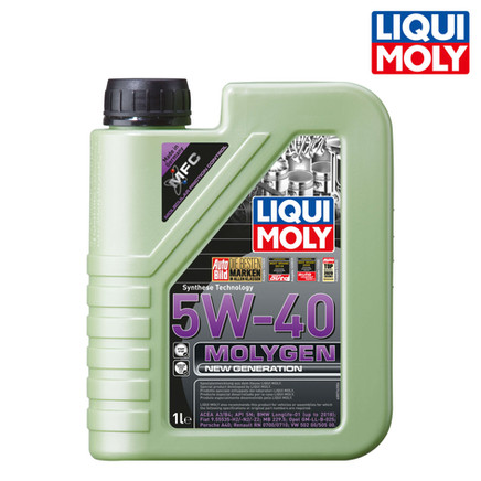 Molygen New Generation 新一代魔護機油 5W-40