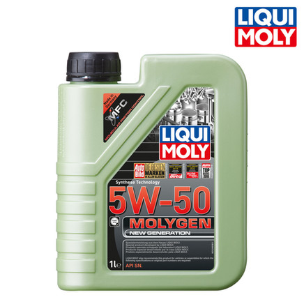 Molygen New Generation 新一代魔護機油 5W-50