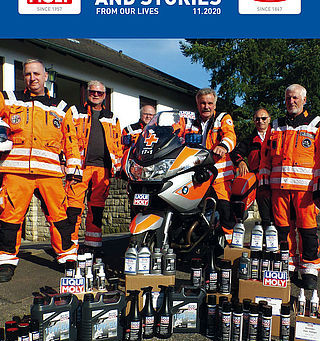 LIQUI MOLY helps the helpers!  - issue 11/2020