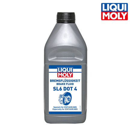 Brake Fluid SL6 DOT 4 煞車油