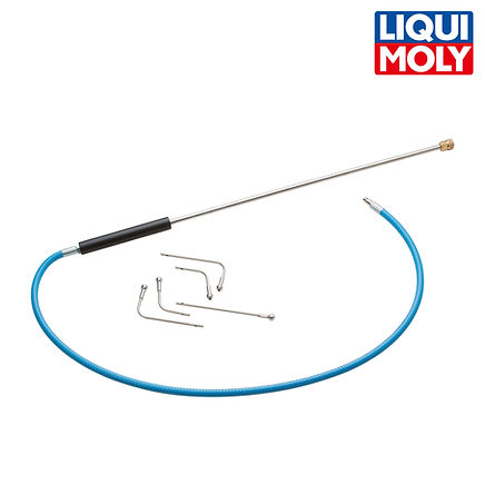 DPF-Probe with 5 interchangeable tips DPF清潔專用噴頭五件組