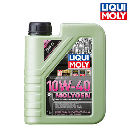 Molygen New Generation 新一代魔護機油 10W-40