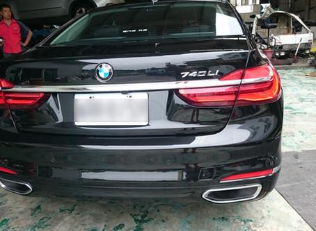 2016 BMW 740 使用LIQUI MOLY MOLYGEN新一代魔護機油5W40心得