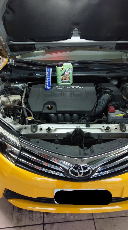 2015 Toyota Altis 1.8 使用LIQUI MOLY CERA TEC Premium BLUE陶瓷保護機油精心得