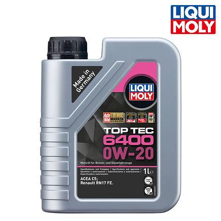 Top Tec 6400 頂級科技機油 0W-20