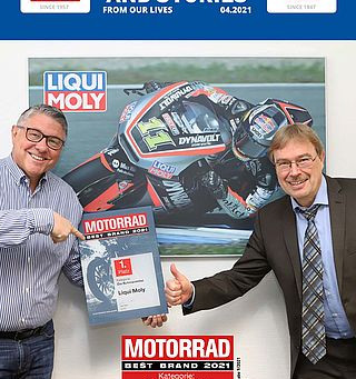 Germany´s Best Lubricant Brand! - issue 04/2021