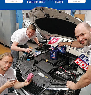 LIQUI MOLY keeps the world moving  - issue 08/2020