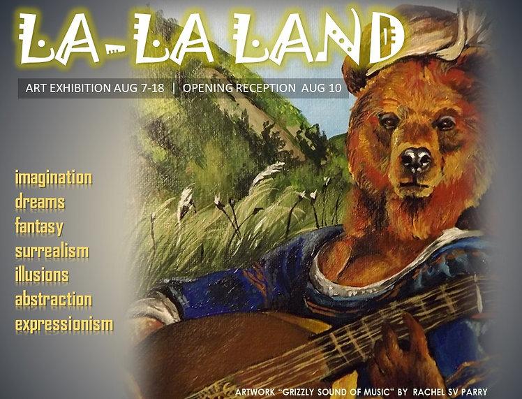 2018 0810 LA LA LAND call for artists R.