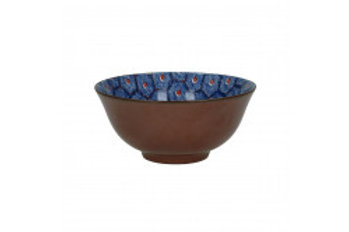 Bowl Lili Rose 'Hexagone'blue