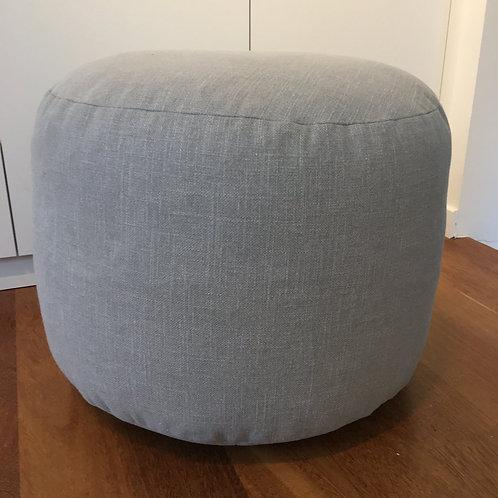 Pouf round 'Aluminium'