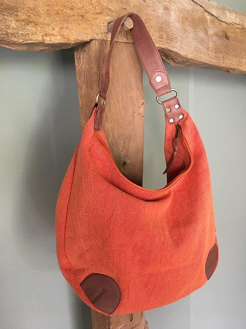 Shoulder bag 'Cleo' orange