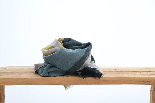 Wool scarf mustard
